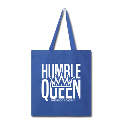 Humble Queen Tot Bag - royal blue