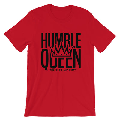"""HUMBLE QUEEN"" Colors Ladies Short-Sleeve T-Shirt"
