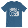"""HUMBLE QUEEN"" White Lettering Ladies T-Shirt"