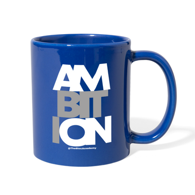 Ambition Mug - royal blue