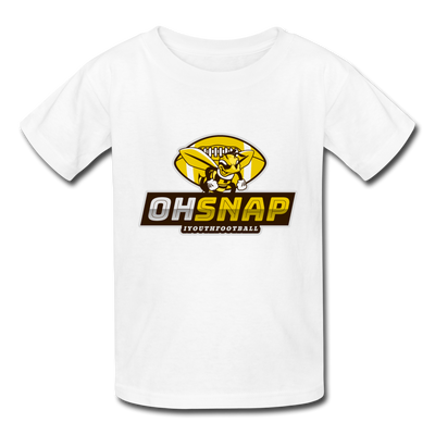 """OHSNAP"" Kids' T-Shirt - white"