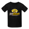 """OHSNAP"" Kids' T-Shirt - black"