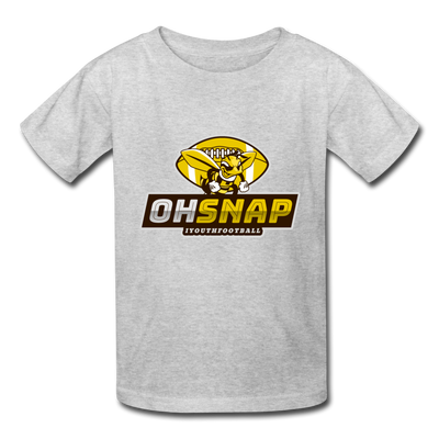 """OHSNAP"" Kids' T-Shirt - heather gray"