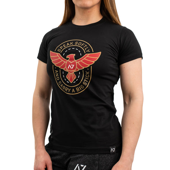 Speak Softly Bar Grip Women's Shirt