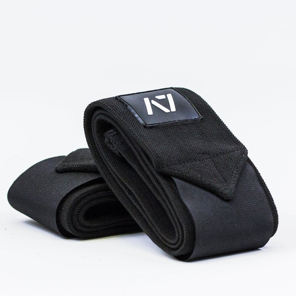 A7 Wrist Wraps - Medium- USPA & IPF Approved Logo