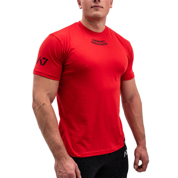 Red IPF Approved Logo Meet Men's Shirt