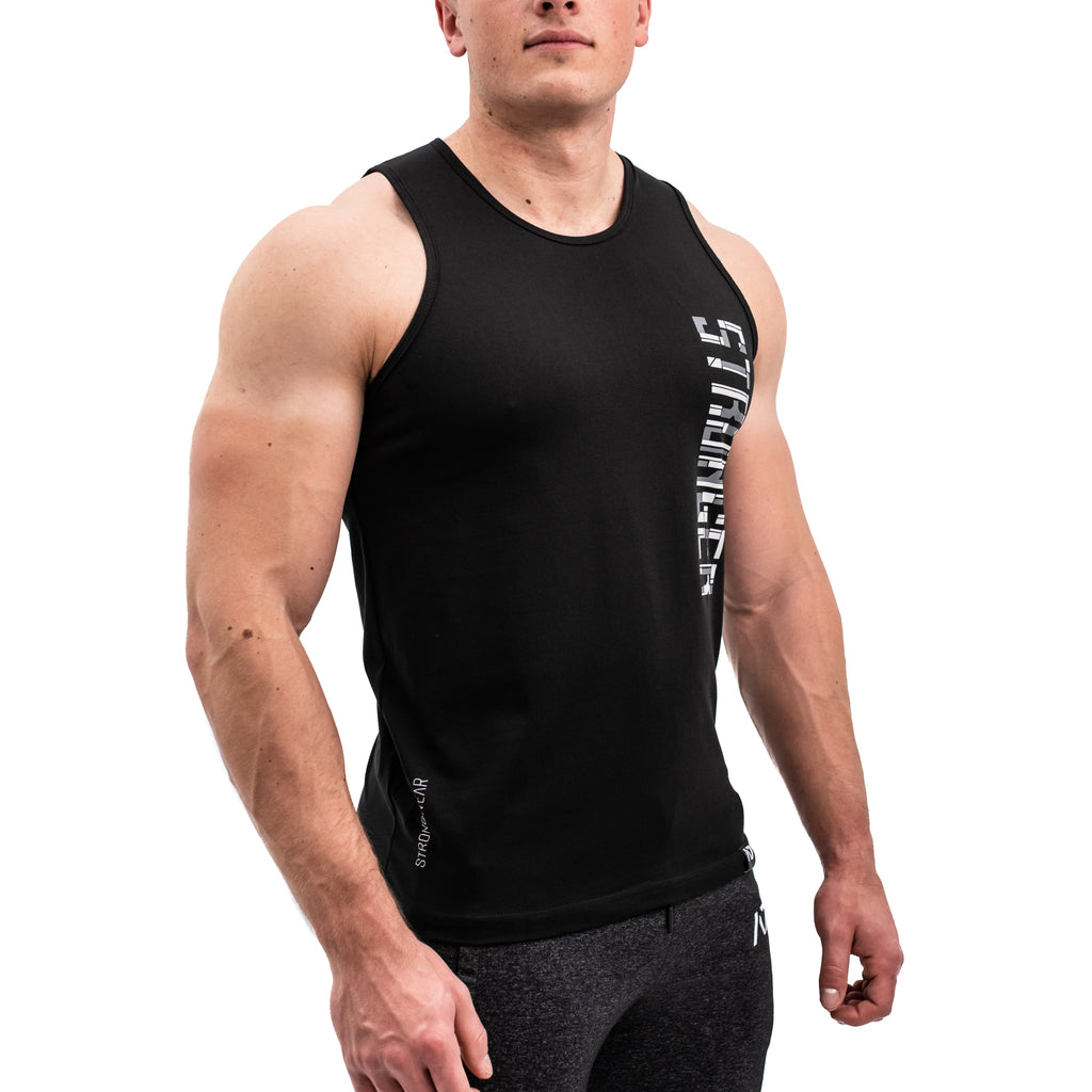 Build Stronger Bar Grip Men's Tank