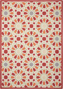 Waverly Sun N Shade SND29 Pink 8'x11'   Rug