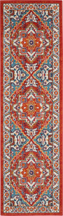 Nourison Passion 8' Runner    Area Rug