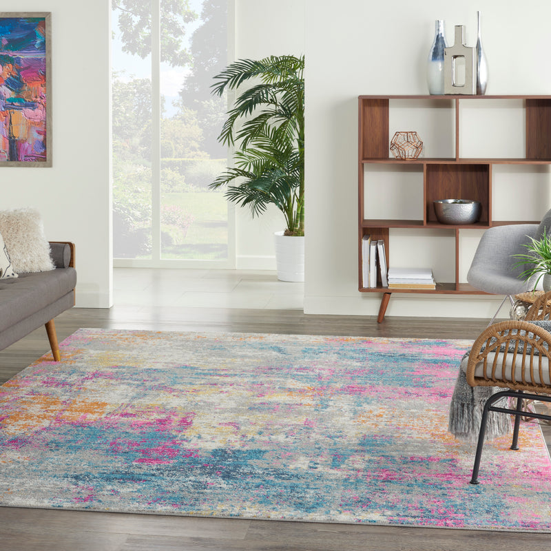 Nourison Passion 8'x10' Ivory Multicolor   Area Rug