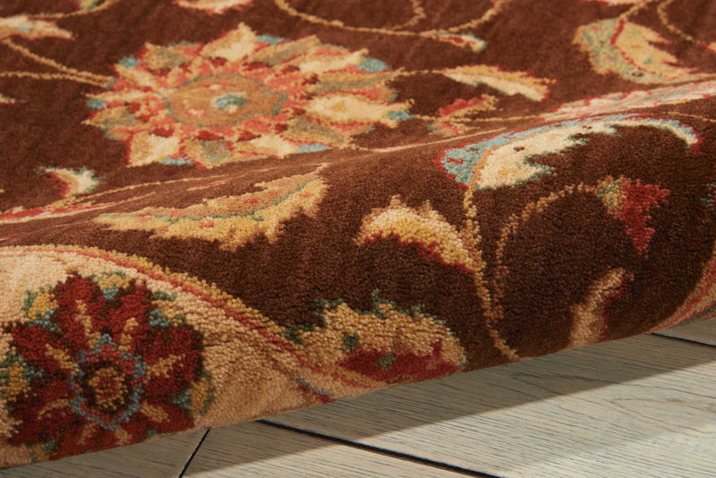 Nourison Living Treasures LI04 Brown 3'x5'  Area Rug