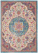 Nourison Passion Bohemian Ivory Multi Colored Area Rug