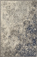 Nourison Passion 2' x 3' Charcoal and Ivory    Area Rug