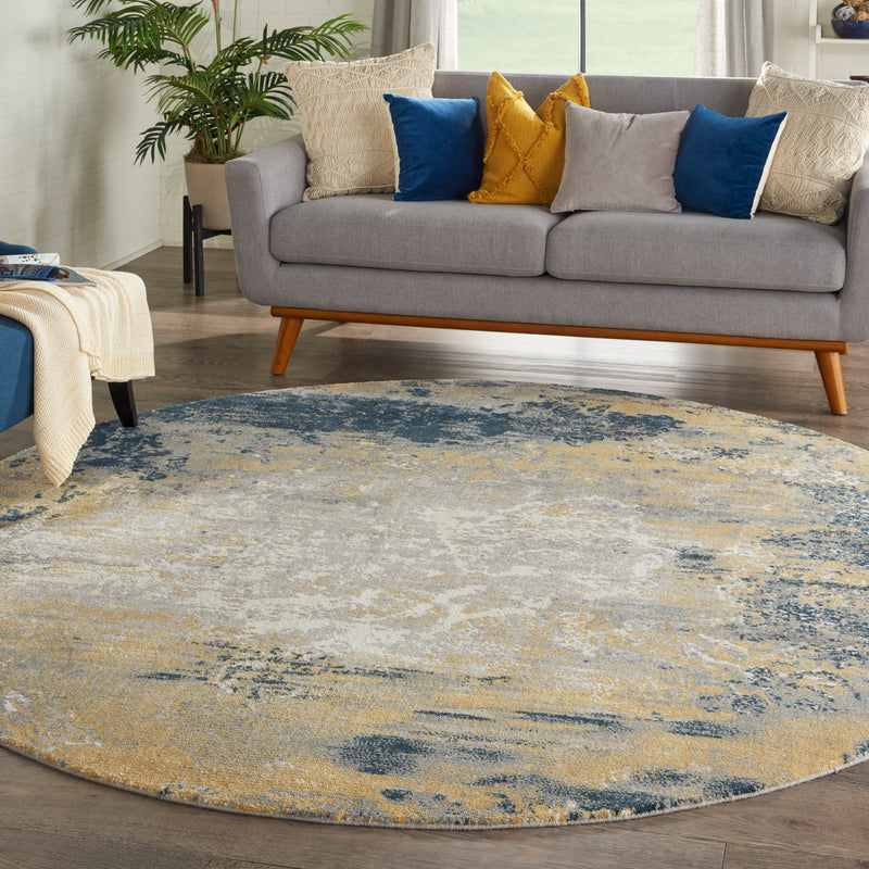 Nourison Twilight 8' Round    Area Rug