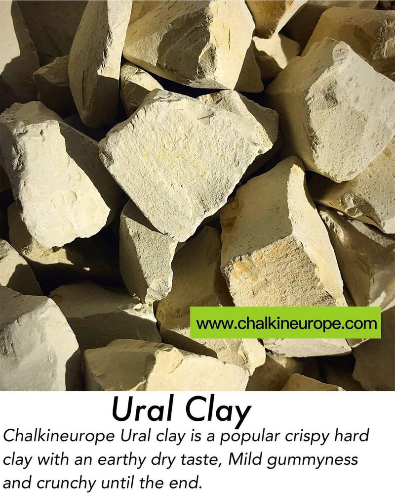 Edible ural clay