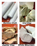 Bamboo Ural Clay Jupiter White Mountain - Chalkineurope