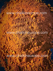 Edible red clay powder
