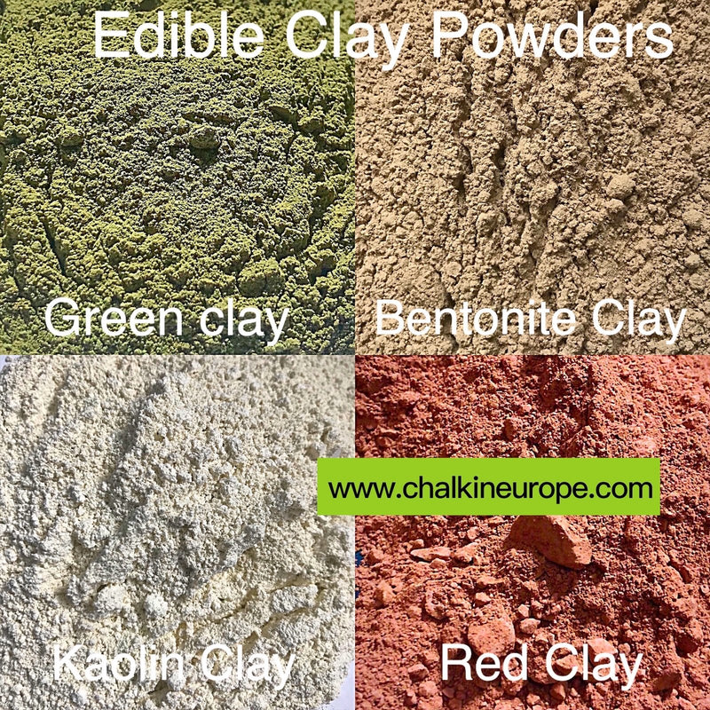 Food grade clay powder - Chalkineurope