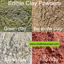 Edible kaolin clay - Chalkineurope