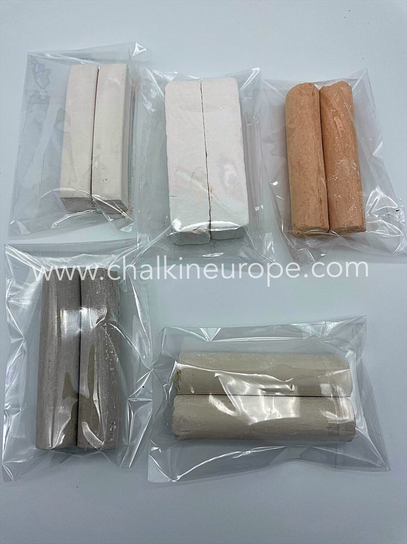 Types of edible clay - Chalkineurope