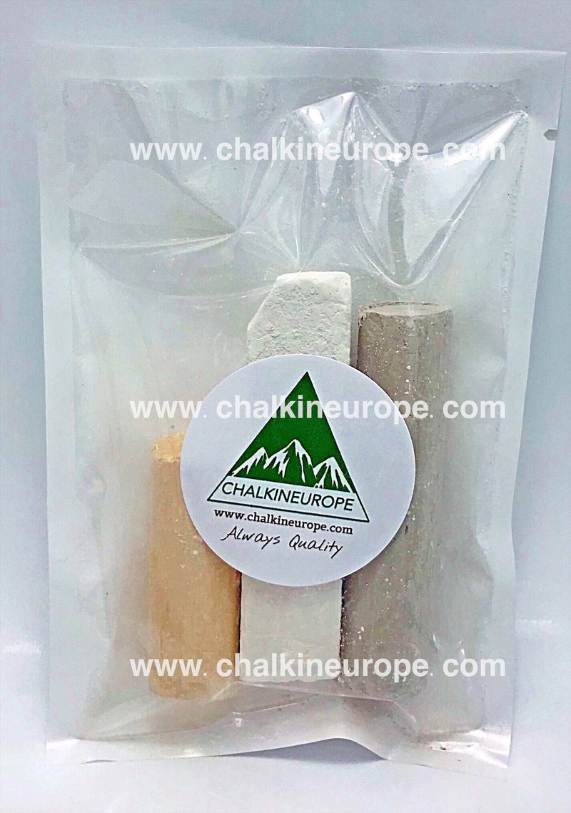 Edible clay bars sticks