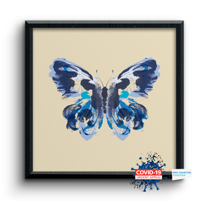 Blue Butterfly - Charity Print