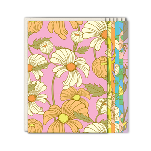 Floral patterned greeting card mix