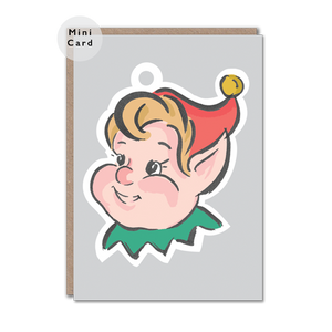Christmas Elf Mini Card