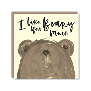 Bear Character Greeting Card