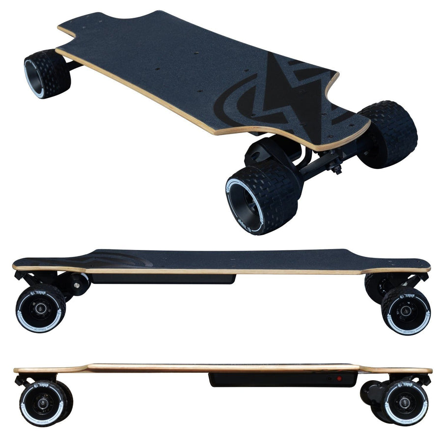 Atom Electric Skateboard B10X All-Terrain Longboard - EskateboardPark