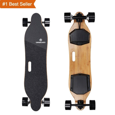 "OWNBOARD W1S Electric Skateboard 38"" High Speed 