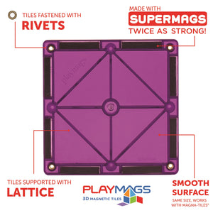 Playmags 50 Piece Accessory Set