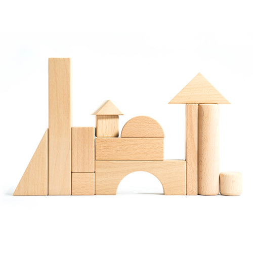 Natural Building Blocks 180 Piece Mega Set