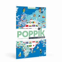 Load image into Gallery viewer, Poppik Giant Sticker Poster - Flags