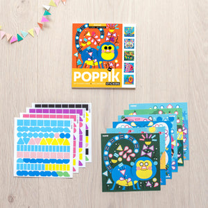 Poppik My Sticker Cards - Animals
