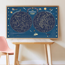 Load image into Gallery viewer, Poppik Giant Sticker Poster - Sky Map