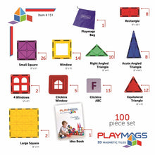 Load image into Gallery viewer, Playmags 100 Piece Value Set