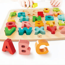 Load image into Gallery viewer, Hape Chunky Alphabet Puzzle