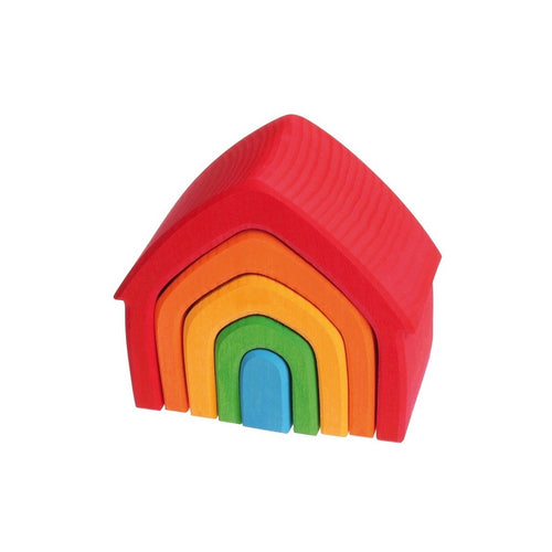 Grimm's Rainbow Stacking House