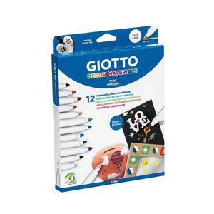 Giotto Decor Materials Multi-surface Markers