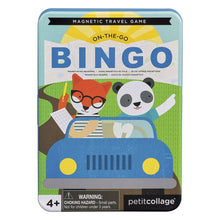 Load image into Gallery viewer, Petit Collage Magnetic Travel Game - On-the-Go Bingo