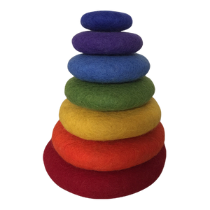 Papoose Rainbow Stacking Set