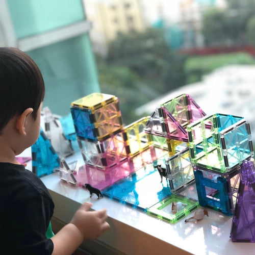 Preorder: Playmags 106 Piece Pastel Set (Limited Edition)