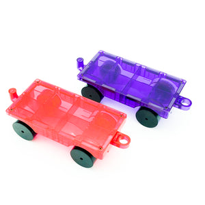 Playmags 2 Piece Car Set
