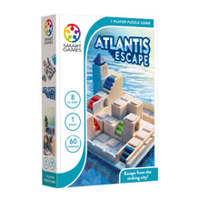 Load image into Gallery viewer, Smart Games Atlantis Escape (Ages 8+)