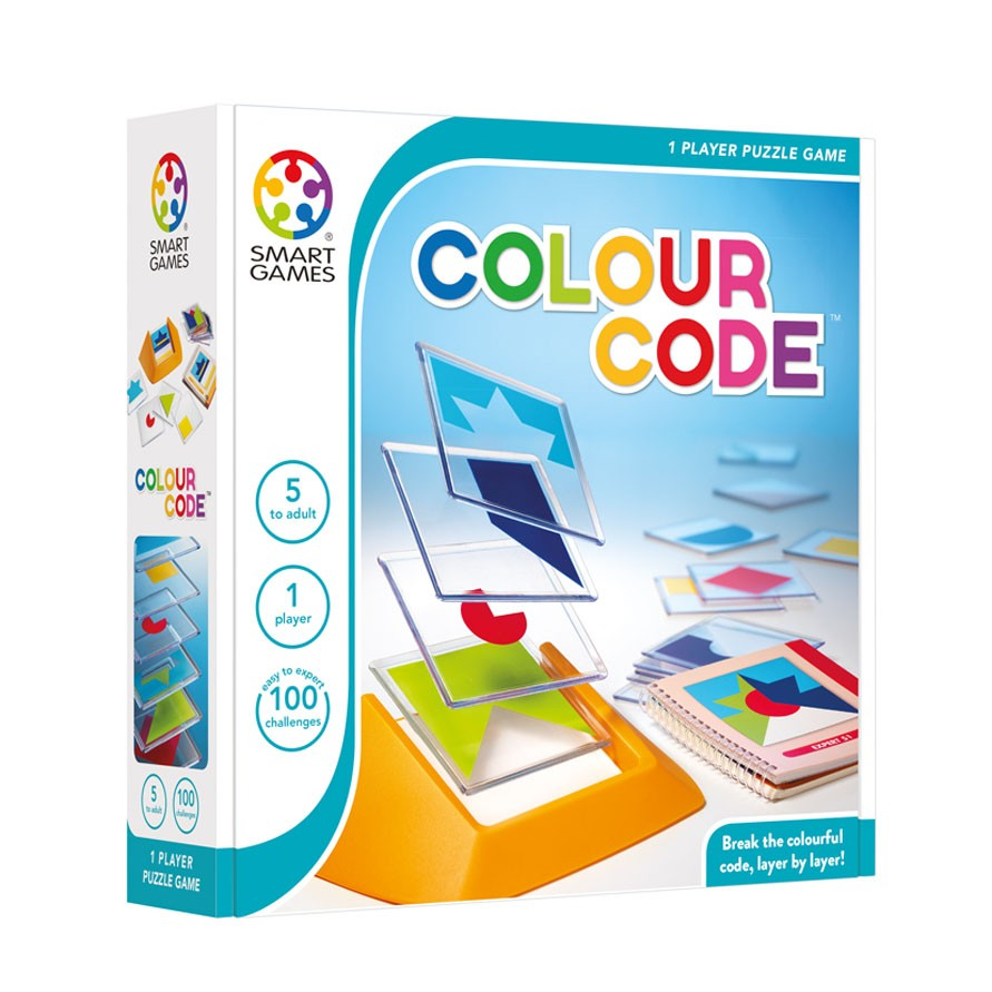 Smart Games Colour Code (Ages 5+)