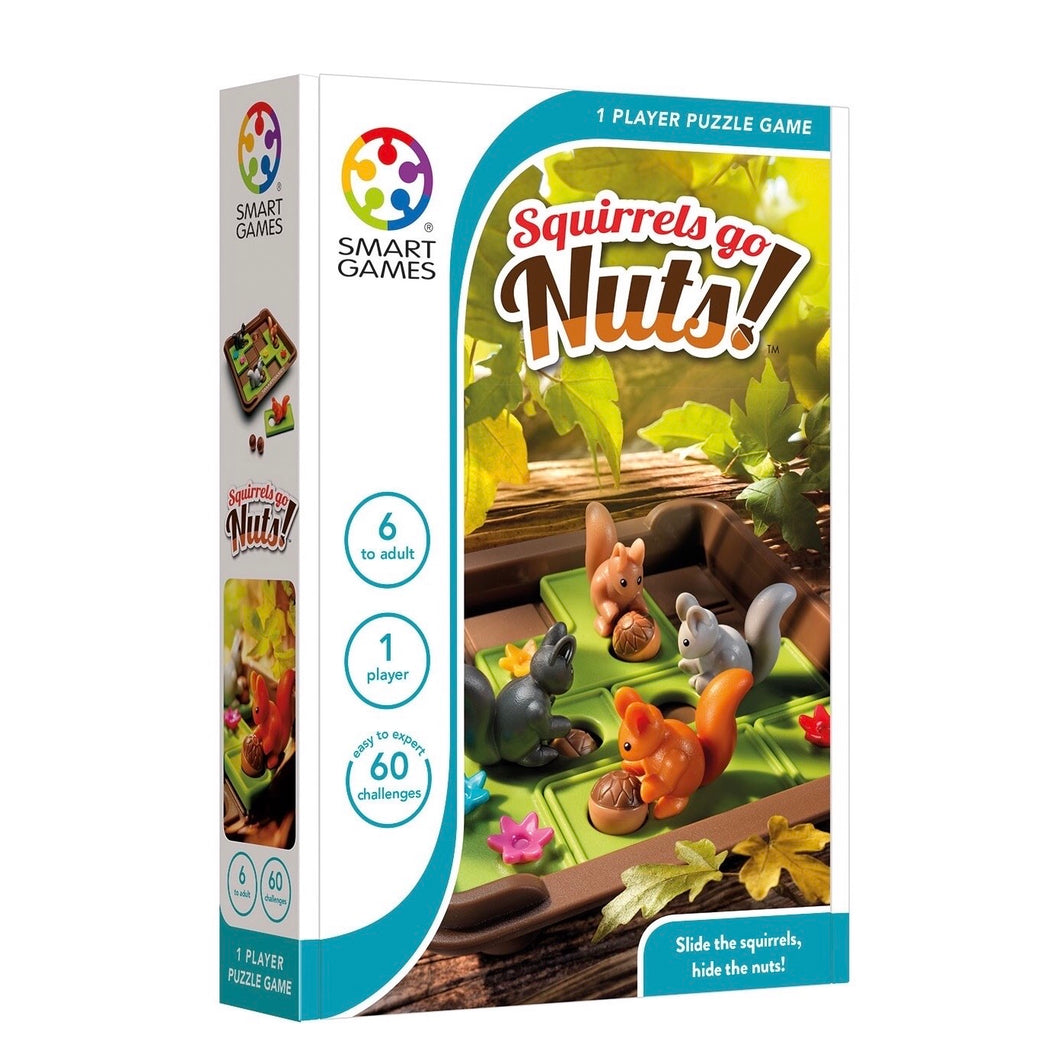 Smart Games Squirrels Go Nuts (Ages 6+)