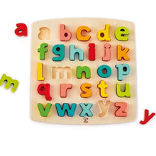 Load image into Gallery viewer, Hape Chunky Lowercase Puzzle