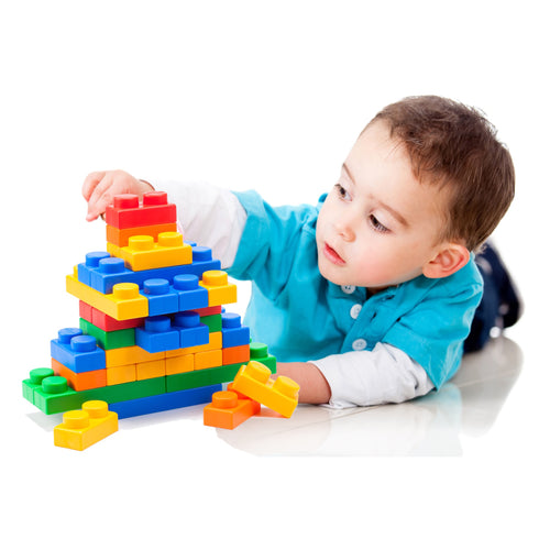 UNiPLAY 60 piece Soft Building Blocks Set