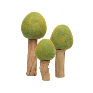 Papoose Toys Spring Trees (Set of 3)